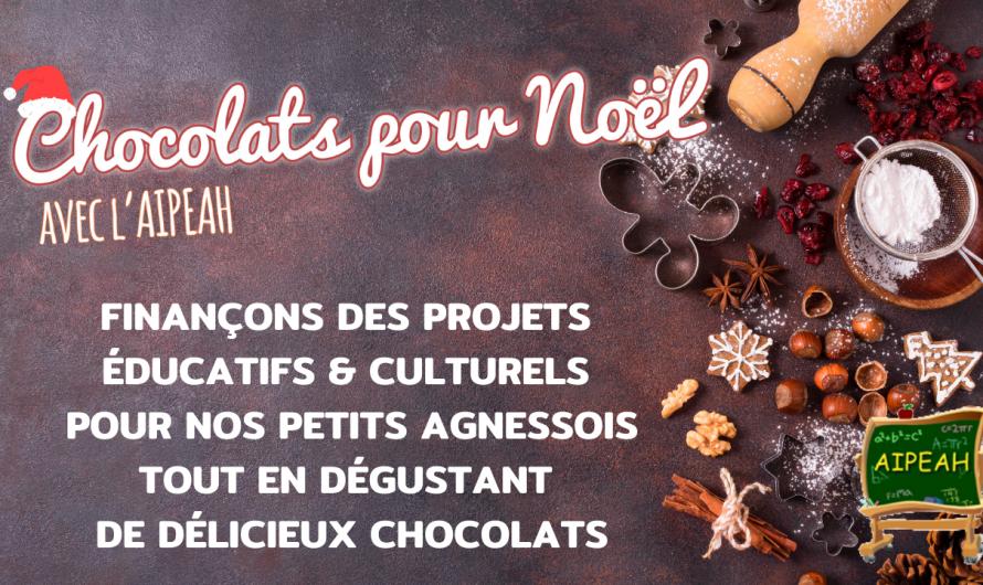 Chocolats pour Noël 2020