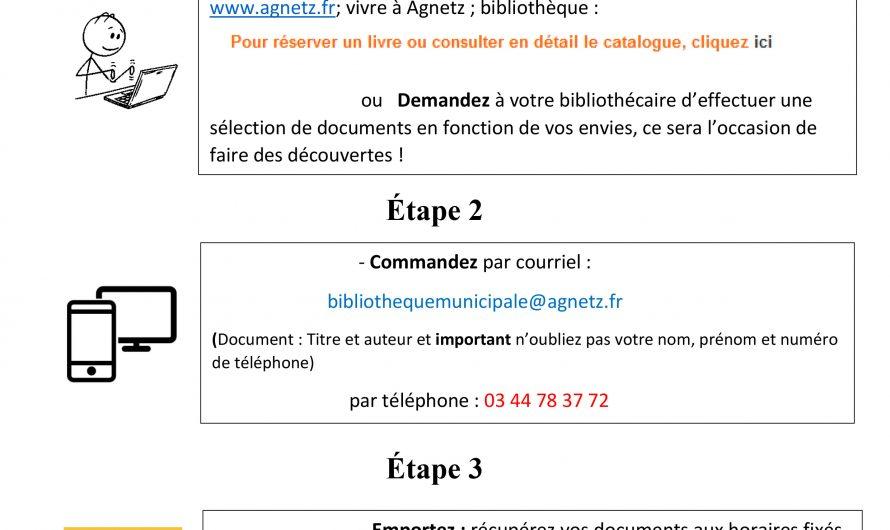 Bibliothèque d'Agnetz : prêt à emporter